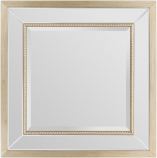 Patterson Gold MDF Wall Mirror - 35.43x35.43 PTT-6100