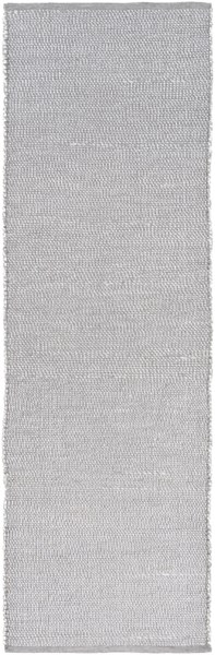 Pulau Contemporary Charcoal Light Gray Polyester Polypropylene Rugs 13018-VAR1