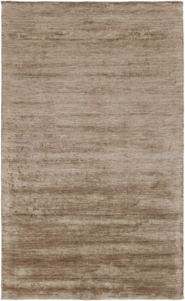Pure Taupe Light Gray Olive Bamboo Cotton Area Rug - 60 x 96 1899-VAR1
