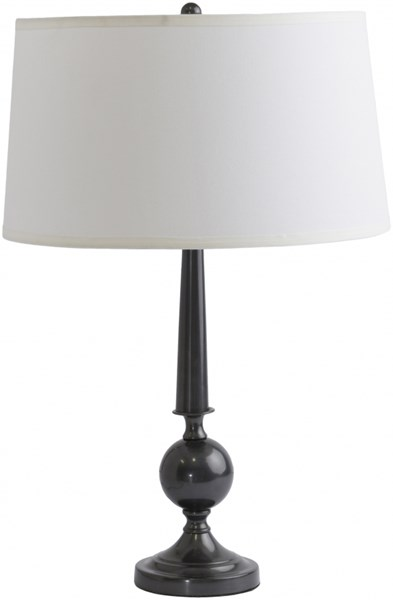 Paxton Dark Bronze Metal Linen Table Lamp - 15x27 PXLP-001