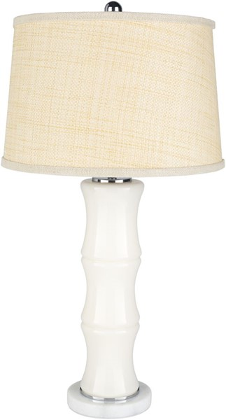 Surya Rafferty Blush White White Glass Table Lamp - 16x30.25 RAF-001