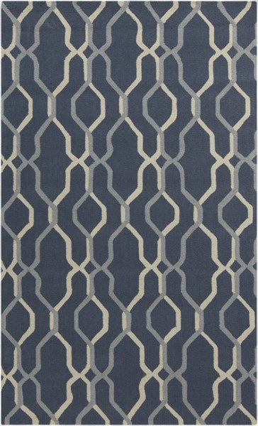 Rain Teal Sea Foam Moss Polypropylene Area Rug - 60 x 96 RAI1183-58