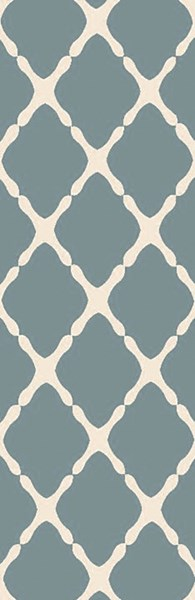 Rain Light Gray Moss Polypropylene Runner - 30 x 96 RAI1245-268
