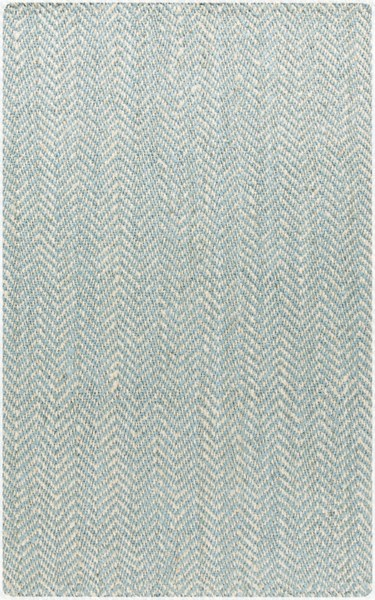 Reeds Ivory Slate Fabric Hand Woven Area Rug (L 96 X W 60) REED802-58