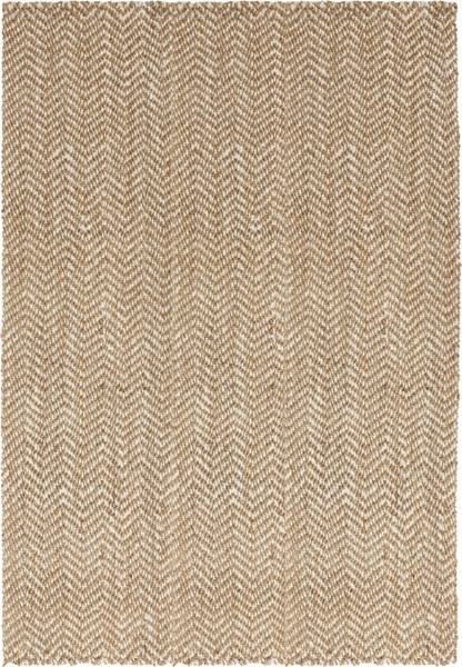 Reeds Contemporary Ivory Beige Fabric Hand Woven Area Rug REED804-58