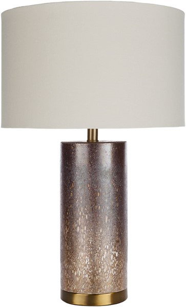 Surya Greer White Glass Table Lamp - 16x26.00 RER-001