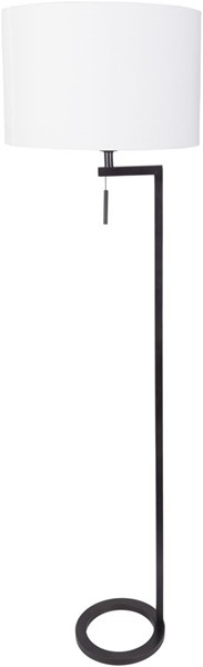 Surya Reese White Metal Floor Lamp - 16x58 RES-004