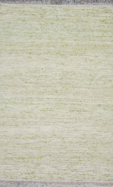 Rex Contemporary Olive Ivory Lime Fabric Area Rug (L 90 X W 60) REX4005-576