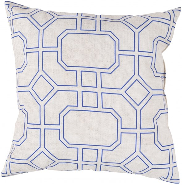 Rain Iris Light Polyester Throw Pillow (L 20 X W 20 X H 5) RG154-2020