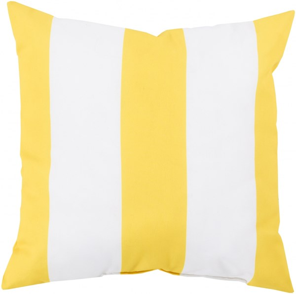 Rain Sunflower Ivory Polyester Throw Pillow (L 20 X W 20 X H 5) RG157-2020