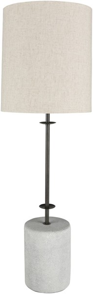 Surya Rigby Ivory Metal Table Lamp - 11x34.25 RGB-002