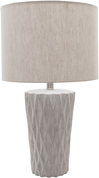 Surya Rico Medium Gray Concrete Table Lamp - 14x23.75 RIC100-TBL
