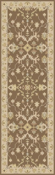 Relic Vintage Taupe Beige Slate Fabric Runners 12733-VAR1