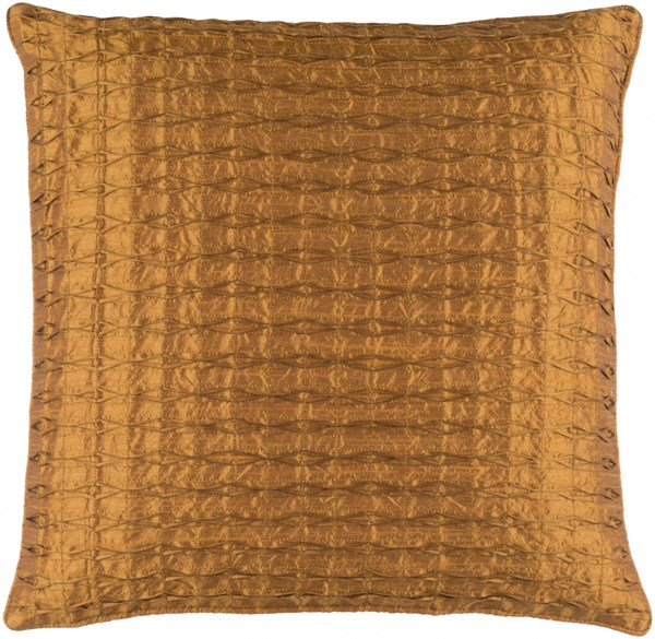 Rutledge Modern Tan Polyester Throw Pillow (L 18 X W 18 X H 4) RT005-1818D