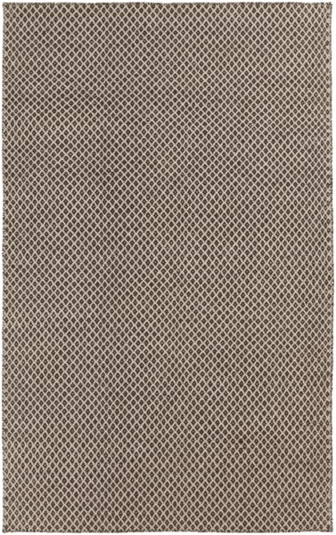 Surya Ravena Dark Brown Ivory Wool Area Rug - 36x24 RVN3002-23