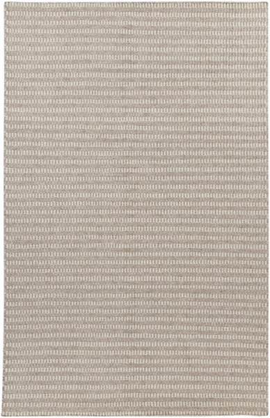 Ravena Contemporary Gray Taupe Fabric Rectangle Area Rug RVN3014-58