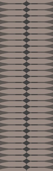 Rivington Light Gray Chocolate Taupe Fabric Runner RVT5004-268