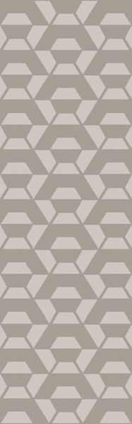 Rivington Contemporary Light Gray Fabric Area Rug RVT5013-268