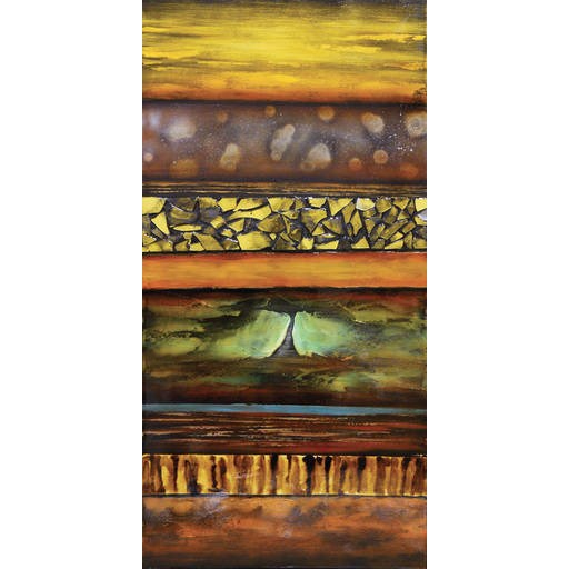 Surya Contemporary Abstract Rectangle Wall Art (W 30 X H 60) RWL3016-3060
