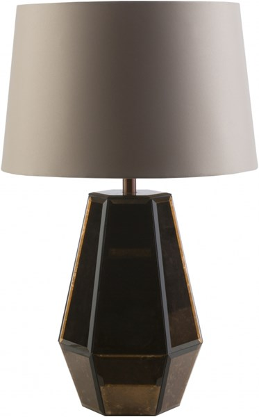 Ryden Copper Ivory Glass Polyester Table Lamp - 16x27.5 RYD460-TBL
