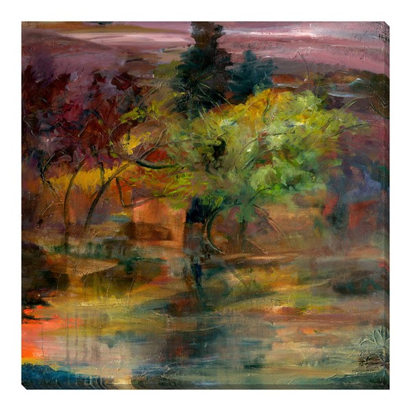Surya Eternal Canvas Forbidden Forest Wall Art - 48x48 SA263A001-4848