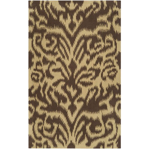 Sag Harbor Flat Pile L 132 X 96 Rectangle Wool Rug SAG-1010 SAG1010-811
