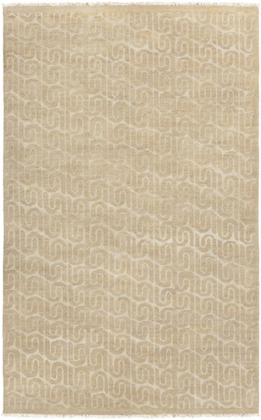 Stanton Contemporary Olive Beige Fabric Area Rugs 14866-VAR1