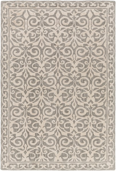 Samual Contemporary Forest Beige Polyester Area Rug (L 90 X W 60) SAU1101-576