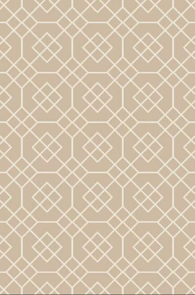 Seabrook Contemporary Beige Ivory Fabric Area Rug (L 90 X W 60) SBK9002-576