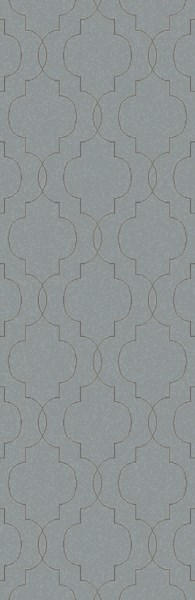 Seabrook Contemporary Slate Black Fabric Runner (L 96 X W 30) SBK9016-268