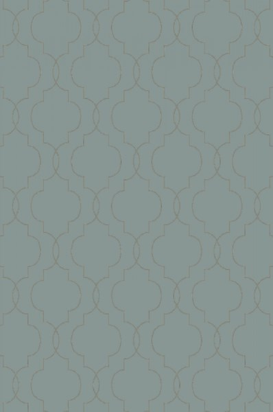 Seabrook Contemporary Moss Olive Ivory Fabric Area Rug (L 90 X W 60) SBK9017-576