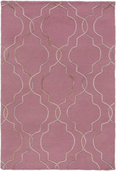 Seabrook Rust Light Gray Olive Fabric Area Rug (L 36 X W 24) SBK9022-23