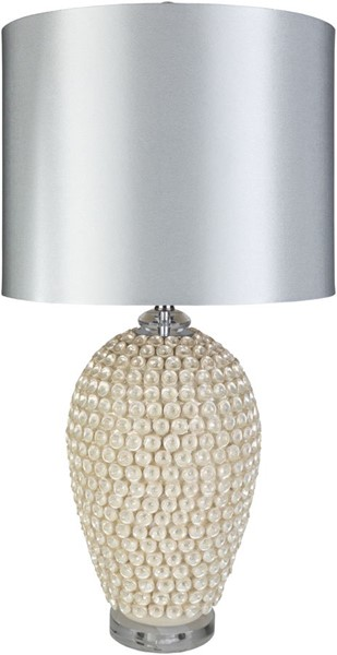 Surya Schyler White Ceramic Table Lamp - 17x34 SCH-101