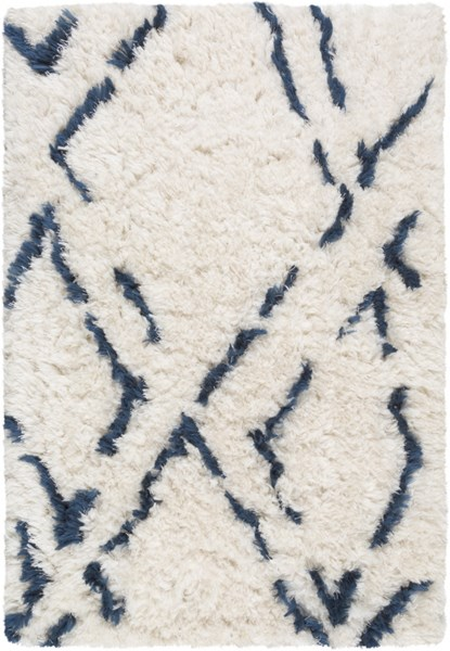 Scout Cobalt Light Gray Polyester Area Rug (L 36 X W 24) SCO3001-23