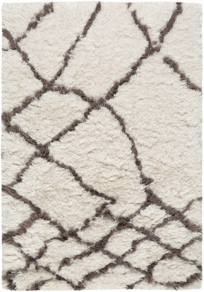 Scout Light Gray Taupe Polyester Area Rug (L 36 X W 24) SCO3003-23