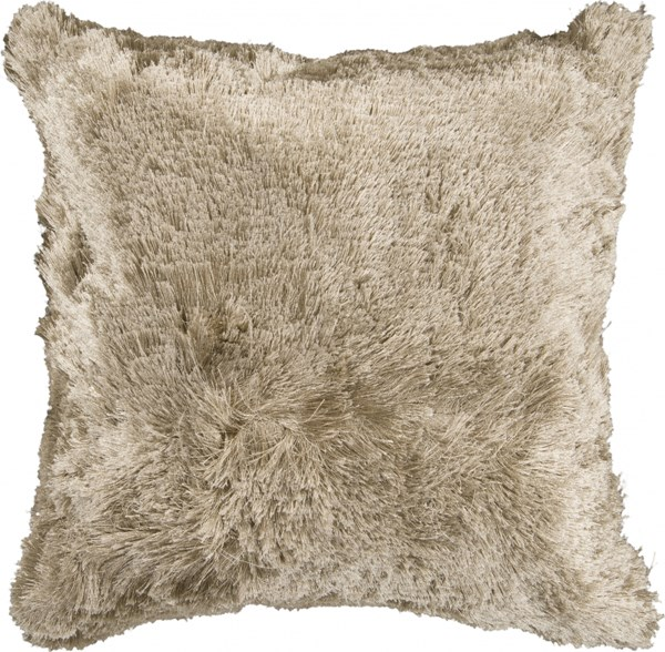 Stealth Modern Olive Polyester Square Throw Pillow (L 22 X W 22 X H 5) SCO301-2222P