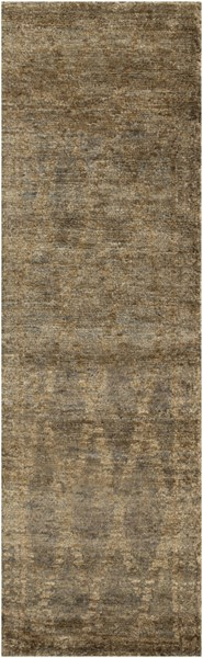 Scarborough Gray Beige Fabric Runner (L 96 X W 30) SCR5136-268