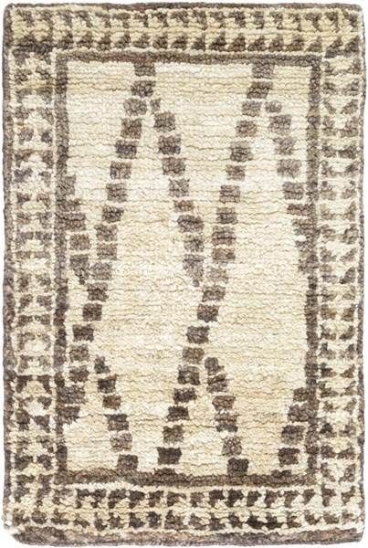 Scarborough Beige Olive Fabric Area Rug (L 36 X W 24) SCR5137-23