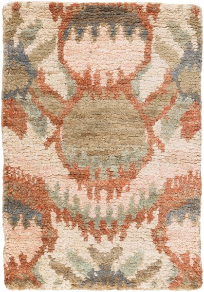 Scarborough Taupe Chocolate Olive Fabric Area Rug (L 36 X W 24) SCR5150-23