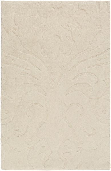 Sculpture Contemporary Beige Fabric Area Rugs 228-VAR1