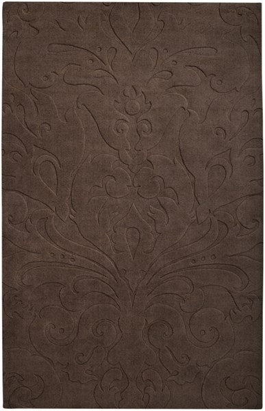 Sculpture Chocolate Wool Area Rug - 60 x 96 SCU7513-58