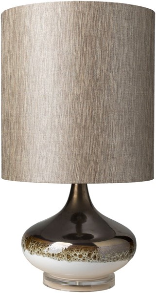 Surya Seagate Camel Ceramic Table Lamp - 15x28 SEG-100