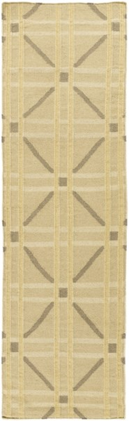 Sheffield Market Lime Olive Gold Fabric Runner (L 96 X W 30)  SFM8007-268