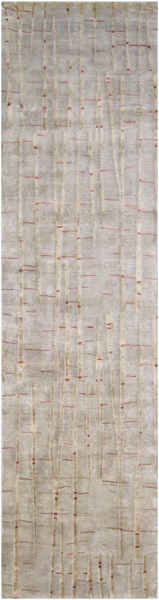 Shibui Modern Gray Chocolate Cherry Fabric Runner (L 120 X W 30) SH7405-2610