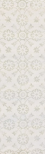 Shibori Contemporary Ivory Olive Fabric Runner (L 96 X W 30) SHB8010-268