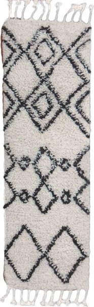 Sherpa Cottage Ivory Taupe Fabric Runners 12707-VAR1