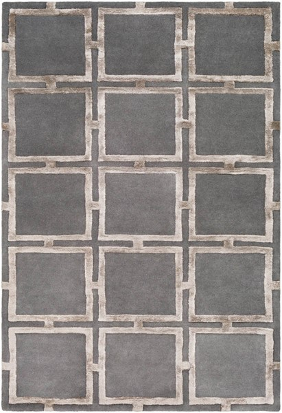 Surya Skyline Charcoal Camel Wool Viscose Area Rug - 90x60 SKL2027-576