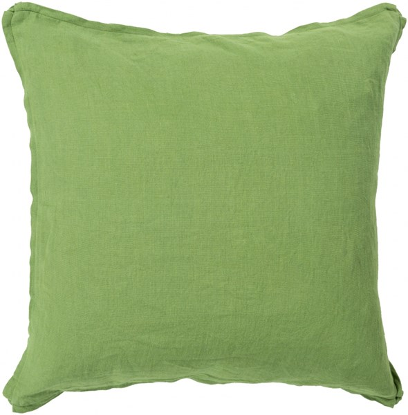 Solid Forest Fabric Square Throw Pillow (L 20 X W 20 X H 5) SL002-2020P