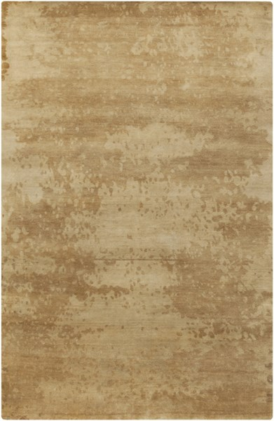 Slice Of Nature Modern Beige Tan Gold Fabric Area Rugs 12982-VAR1