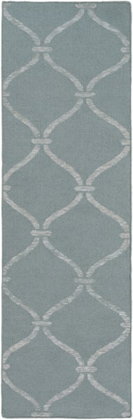 Stallman Contemporary Slate Light Gray Fabric Runner (L 96 X W 30) SLM1035-268